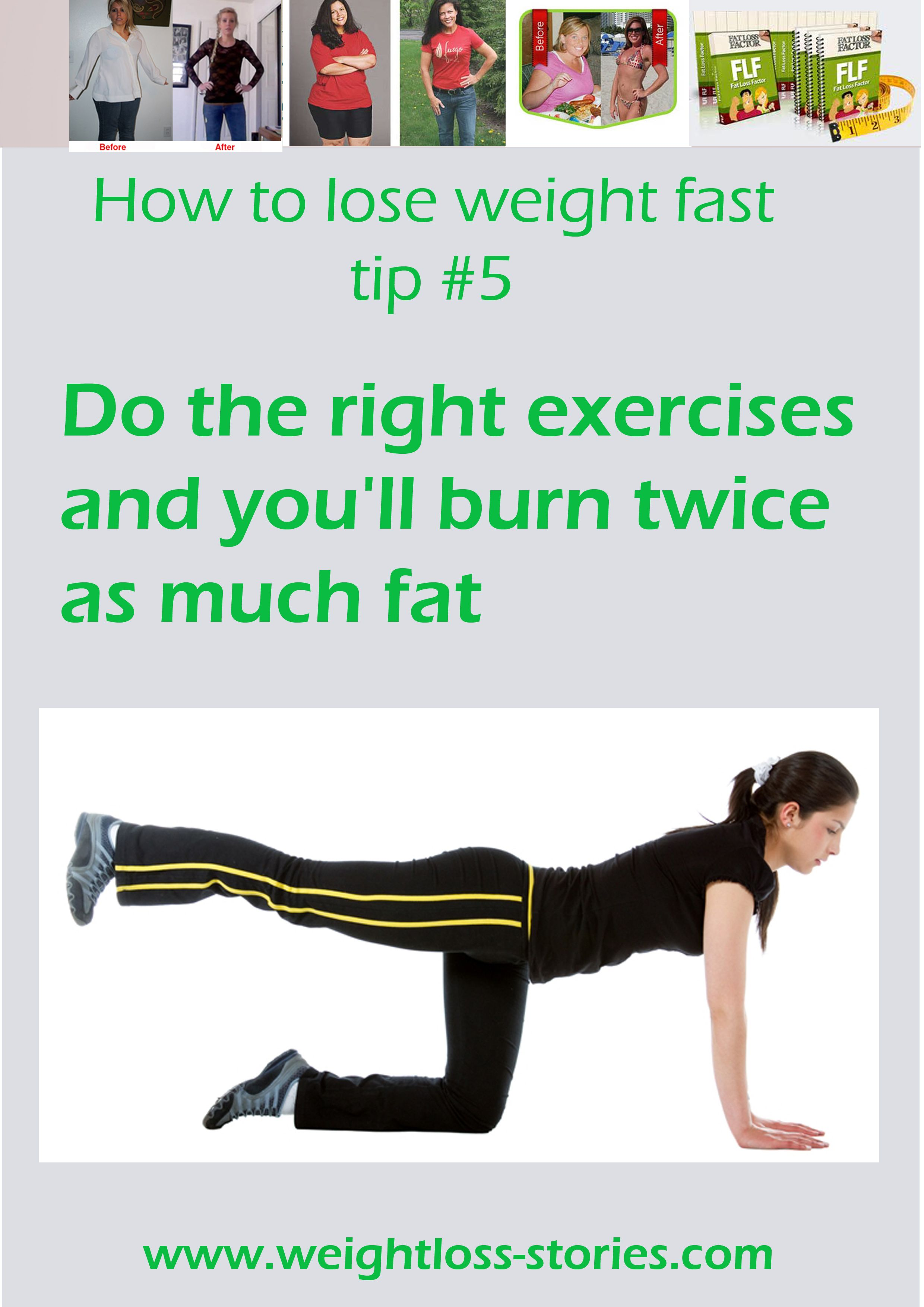 how to lose weight in a week with exercise
