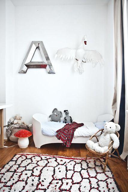 Un Tapis Berbere Dans Une Chambre D Enfant Decoration Chambre