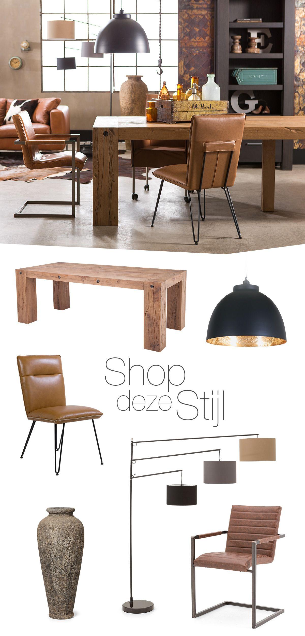 Shop deze stijl! #puur #landelijk #stoer #vintage #interieur ...