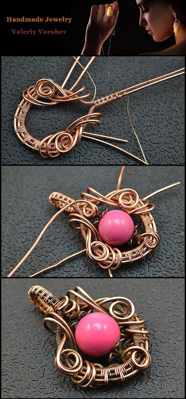 Photo of Wire Wrap Tutorials, Wire Wrap, Draht gewickelt, Draht Schmuck, handgemacht