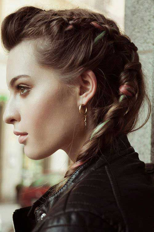 20 punk rock hairstyles for long hair hairstyles pinterest 20 punk rock hairstyles for long hair urmus Image collections