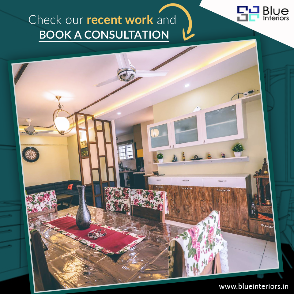 Thinking Of Hiring An Interior Designer To Redesign Your Home Interiors Check Out Our Portfolio Blue Interior Top Interior Designers Interior Design Companies