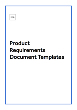 Product Requirements Document Template  ShawnaS  Likes