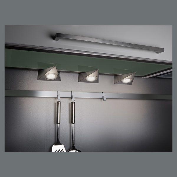 3er Set LEDUnterbauleuchten für Küche und Hobby