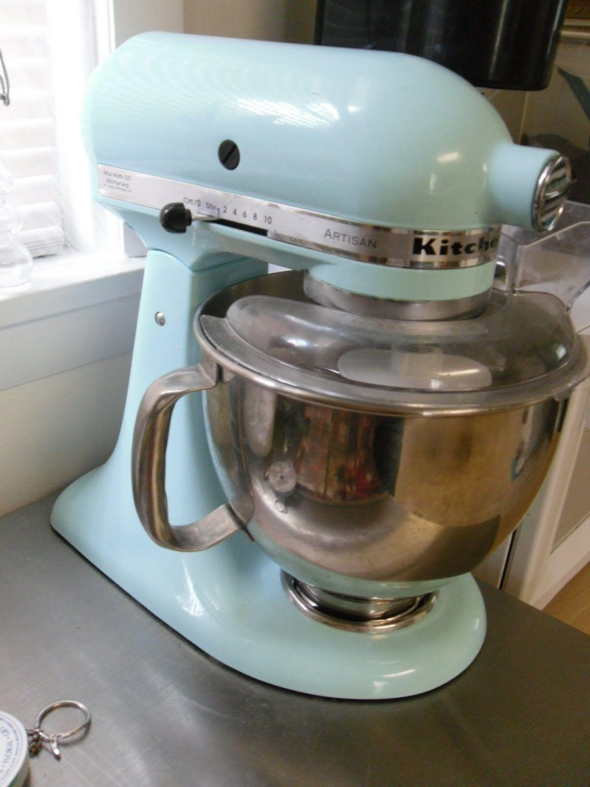 Photo Ice Blue Kitchenaid Mixer Ice Blue Kitchenaid