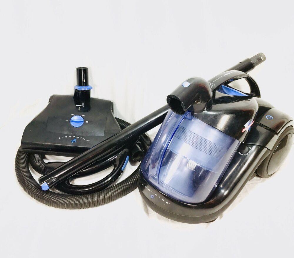 Fantom Lightning Hepa 12 Amp Swivel 360 Canister Vacuum Cleaner Retractable Cord Fantom Canister Vacuum Canister Vacuum Cleaner Handheld Vacuum Cleaner