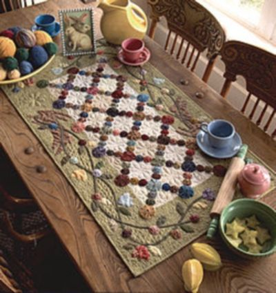 Kim Diehl Quilt Kits | Kim Diehl's Tulips and Tossed Greens