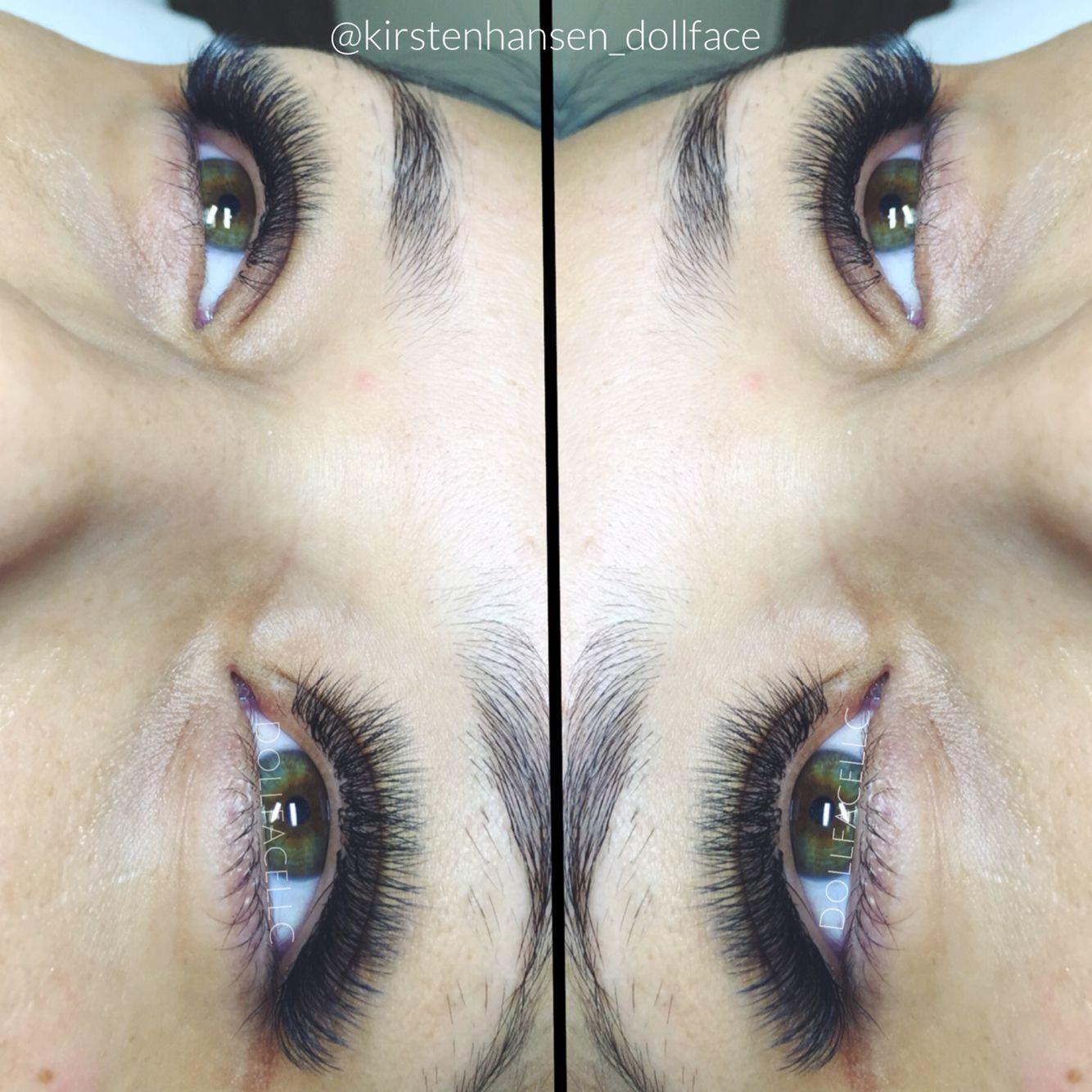 fe22ca1a7c4 Russian Volume Eyelash Extensions @kirstenhansen_dollface - Dollface Lashes  & Beauty. Houston, Tx