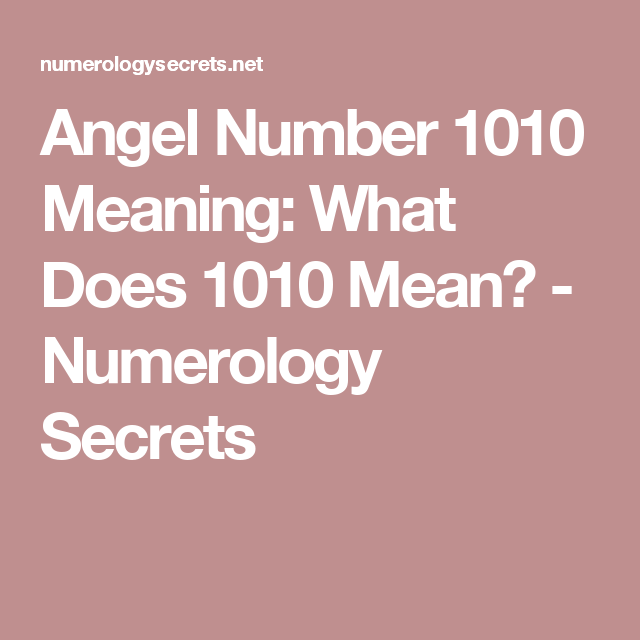 How To Use Numerology To Guide Your Life
