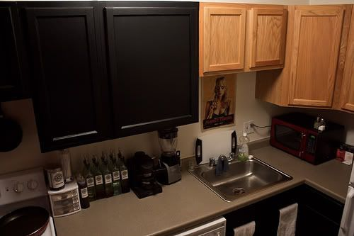 Contact Paper Cabinets On Pinterest Rental Kitchen Makeover