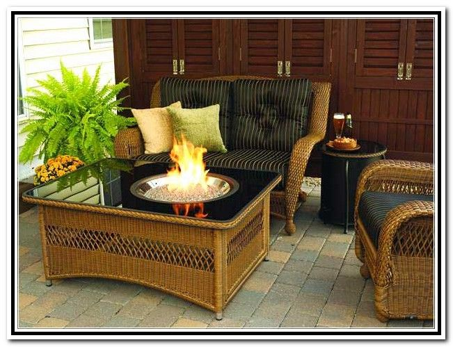 Parts For A Fire Table | Gallery Of Gas Fire Pit Table And Chairs