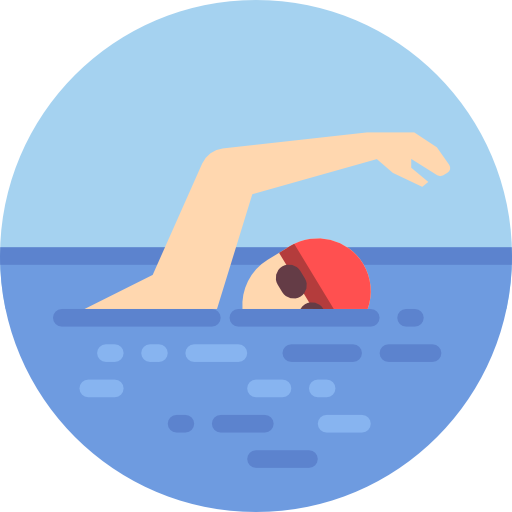 Swimming Free Vector Icons Designed By Freepik Swimming Cartoon Vector Icon Design Swimming