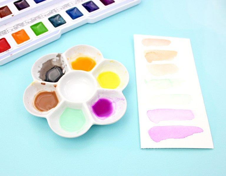 How To Paint Watercolor Ice Cream Cones Ice Cream Cone