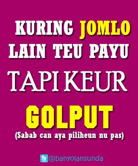 Stiker Banyol Golput