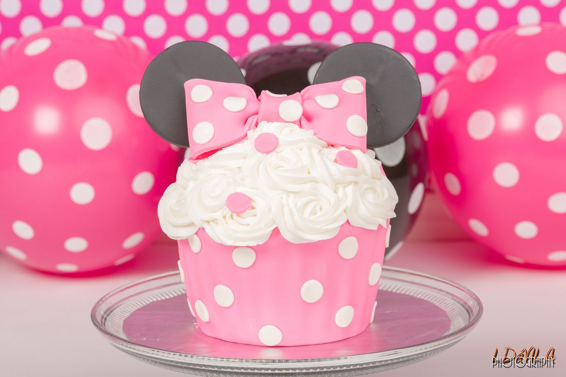 Minnie Mouse Smash Cake | Baby's 1st Bday | Pinterest ...