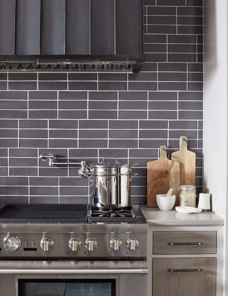 Best House Beautiful Brick Tile Kitchen Backsplash Fireclay 400 x 300