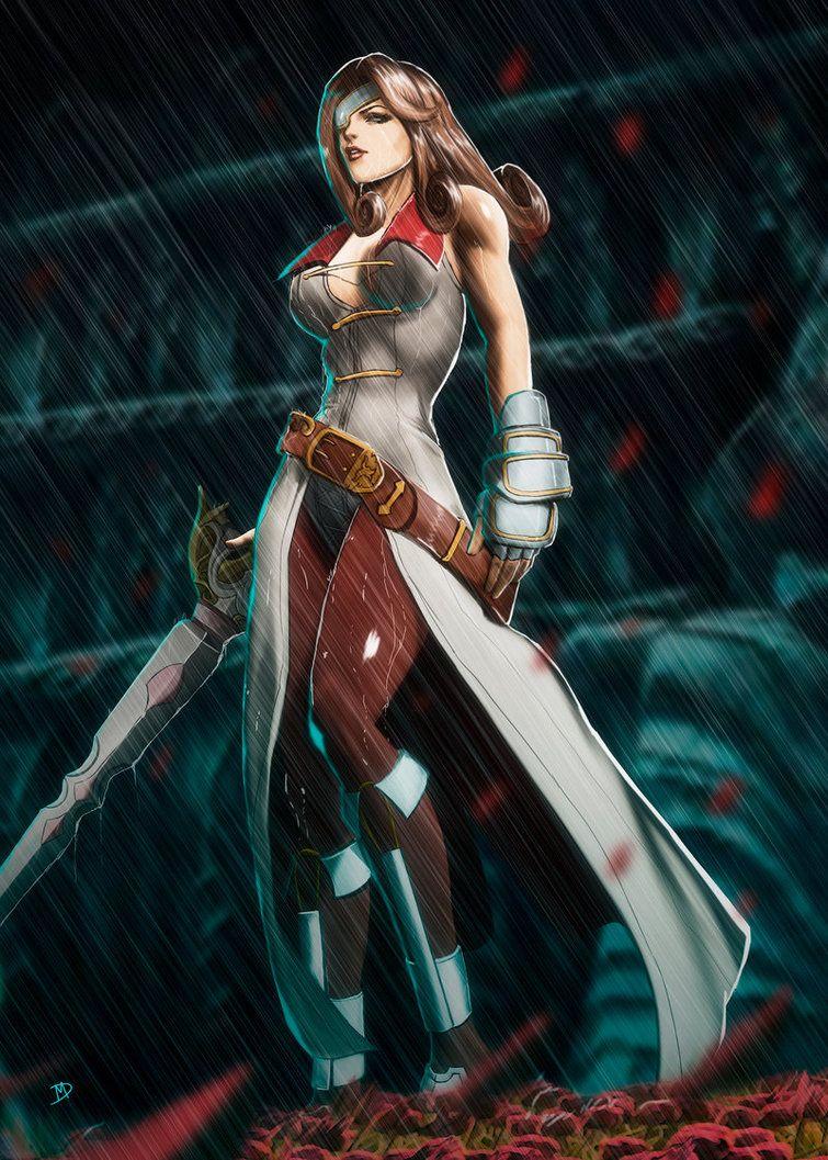 Beatrix Final Fantasy 9 by Madboy-Art