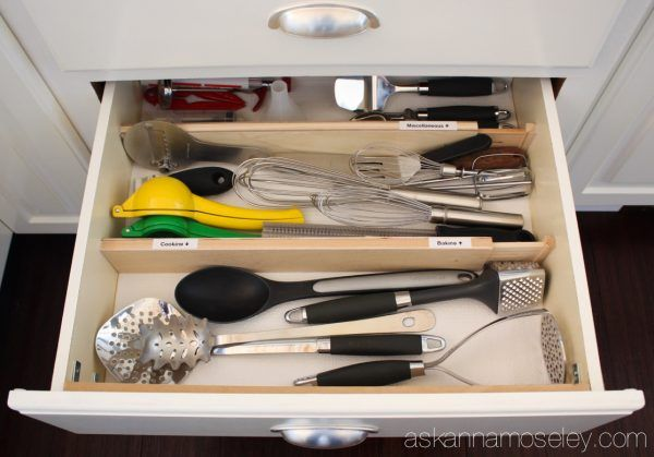 How to Organize Kitchen Utensils in 30 min or Less ...