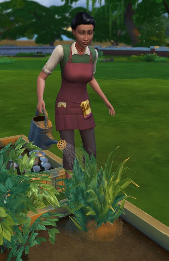 The Sims 4 - Hire Gardener NPC Gameplay Mod   Sims Goodies