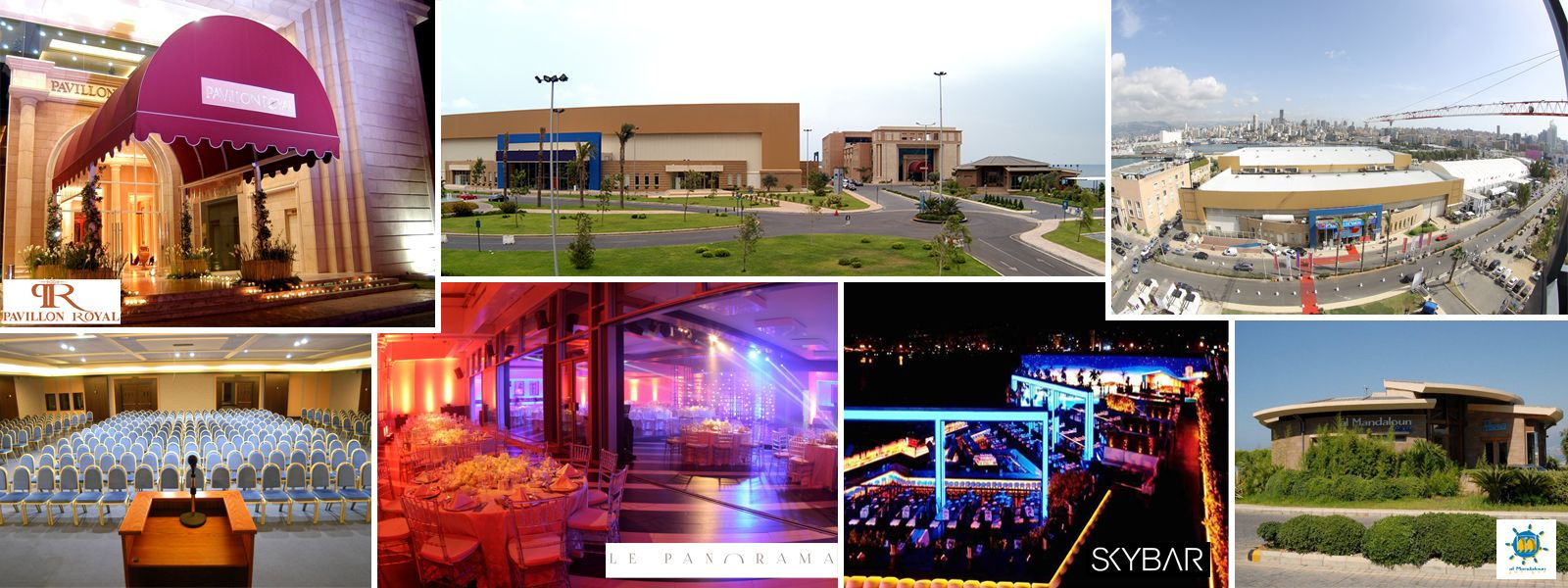 BIEL Beirut Venues for all kinds of events from corporate to personal celebrations.