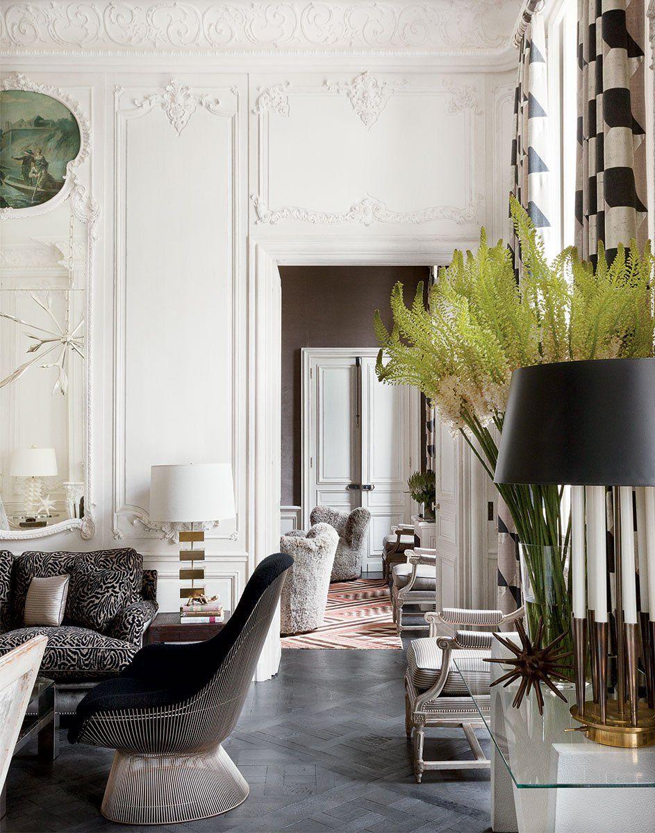 Inside Lauren Santo Domingo S Paris Duplex Interior Design House Interior Home Decor