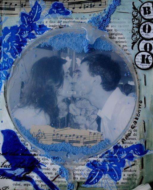 altered book -  Feliz Dia N(amor)ados