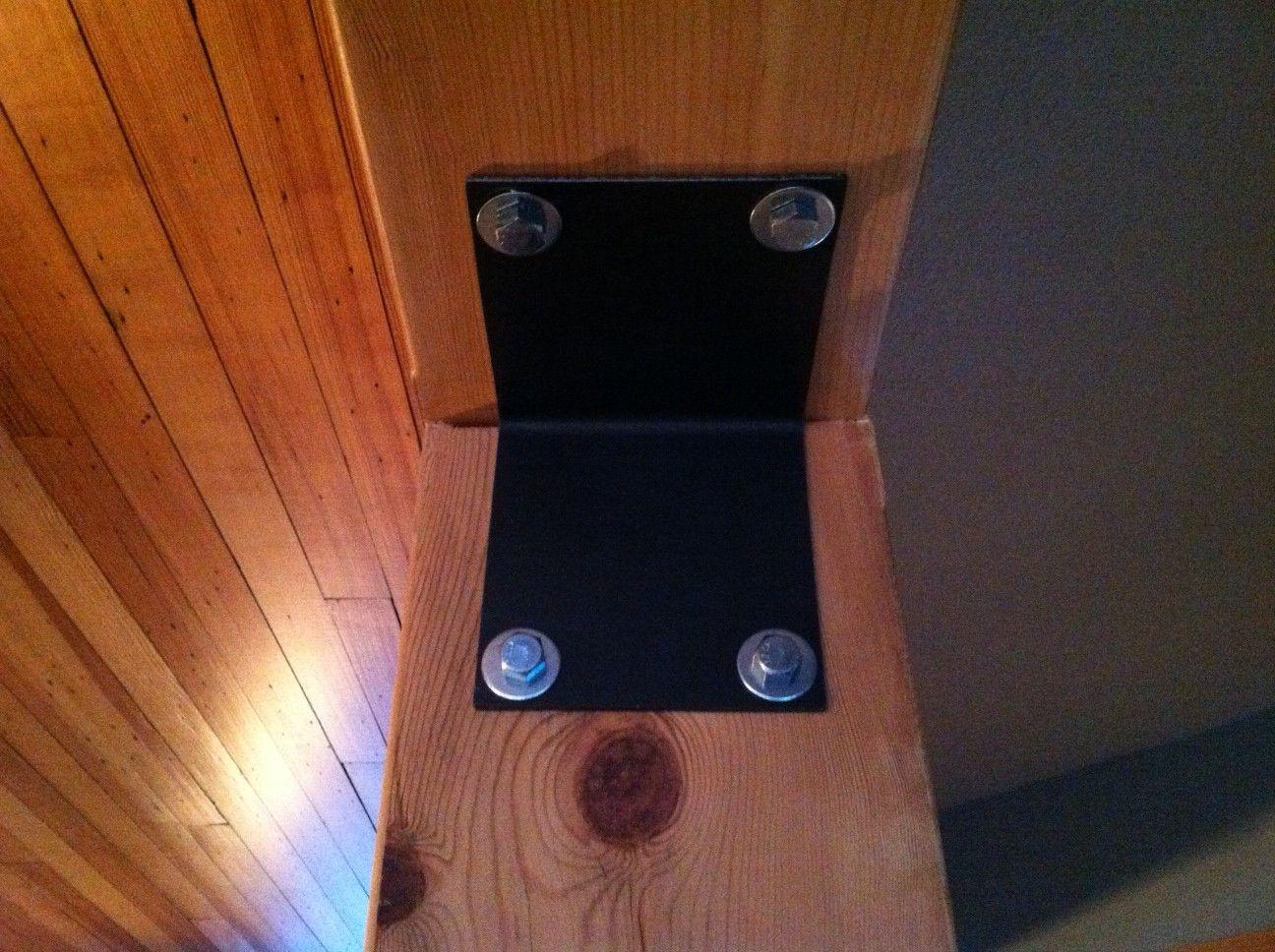 Custom Timber Beam Brackets Patio Post Beam Moose Decor
