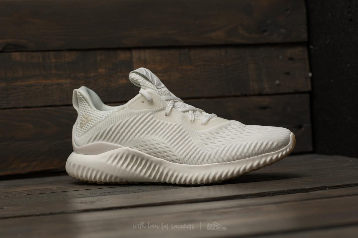 hot sale online 8baf7 1b5f3 adidas Alphabounce EM Undye M White/ White/ White at a great ...