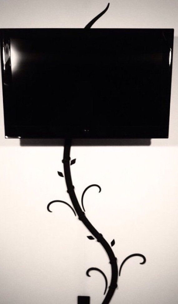 Exceptional Hide Tv And Digital Picture Frame Cords Without Cutting Holes In Your Wall  With My Creation