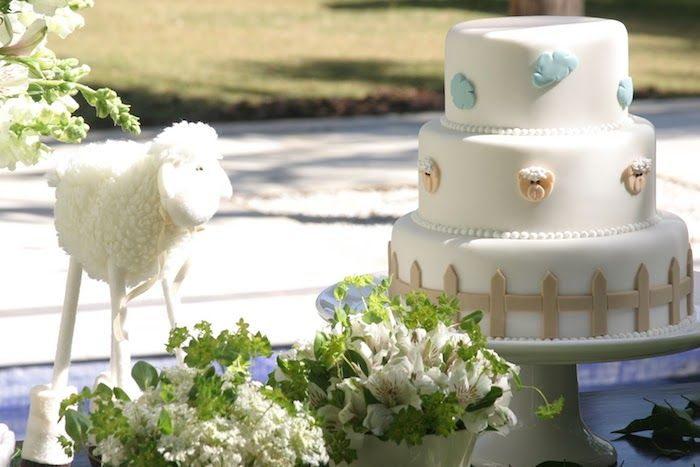 Lamb Themed Baby Shower Favors ~ Baby shower dessert table lamb themed baby shower