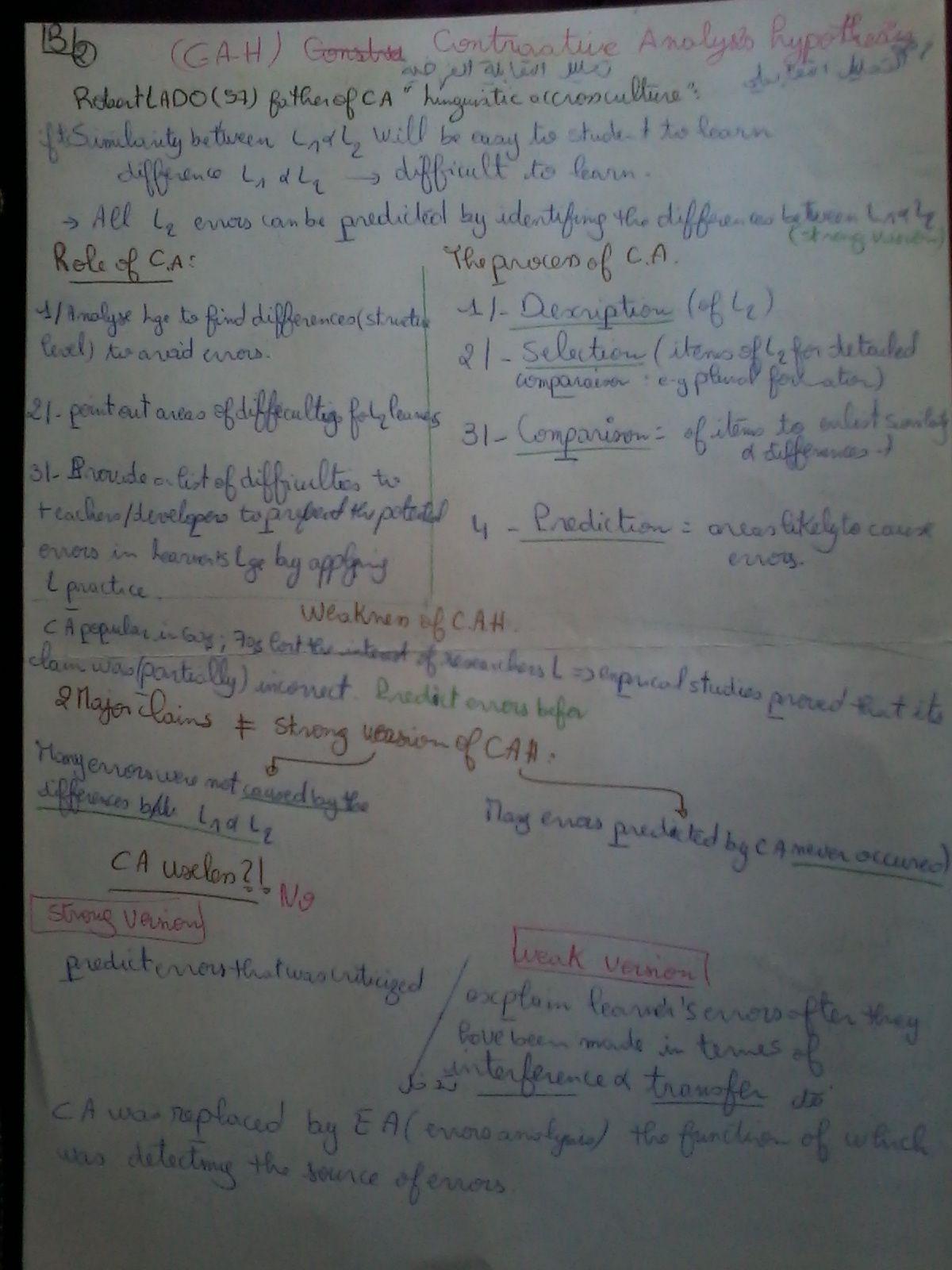 Applied Linguistics Courses Miss Nadia Zaid