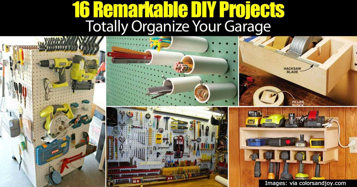 16 remarkable diy projects totally organize your garage 16 remarkable diy projects totally organize your garage solutioingenieria Gallery