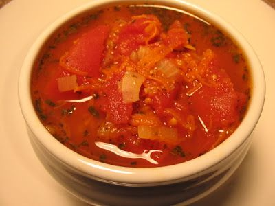 Chunky Herb & Tomato Soup