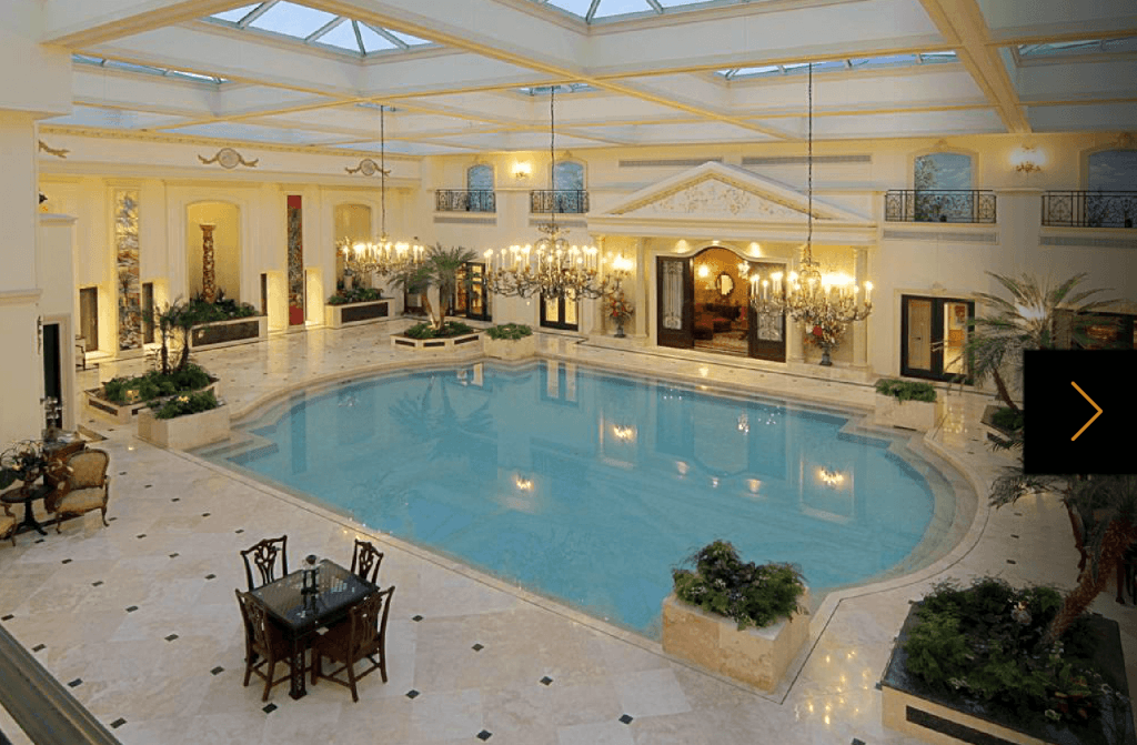 10 Massive Mansions Of The Rich And Texan Indoor Swimming Pool Design Luxury Swimming Pools Indoor Swimming Pools