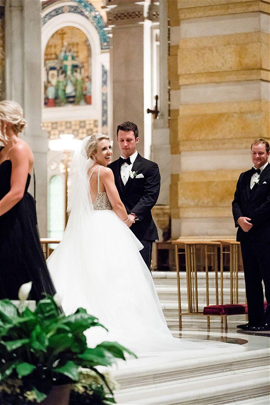 Wedding Photos By Saint Louis Wedding Photographer Ashley Fisher Photography Wedding Ceremony At The Cathedral Bas St Louis Wedding Wedding Ceremony Ceremony