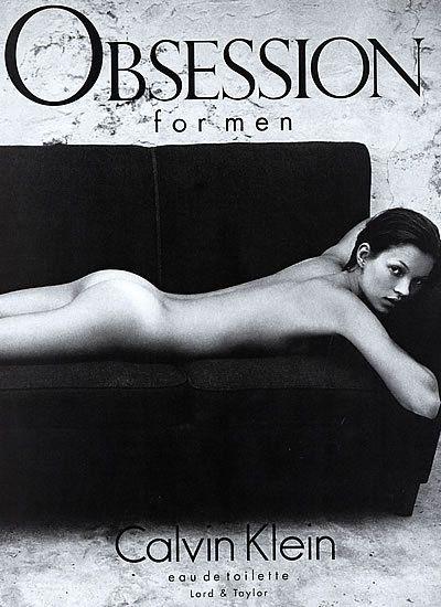 Kate Moss - Calvin Klein 1993. Heroin chic. Phong cách chụp hình không chú