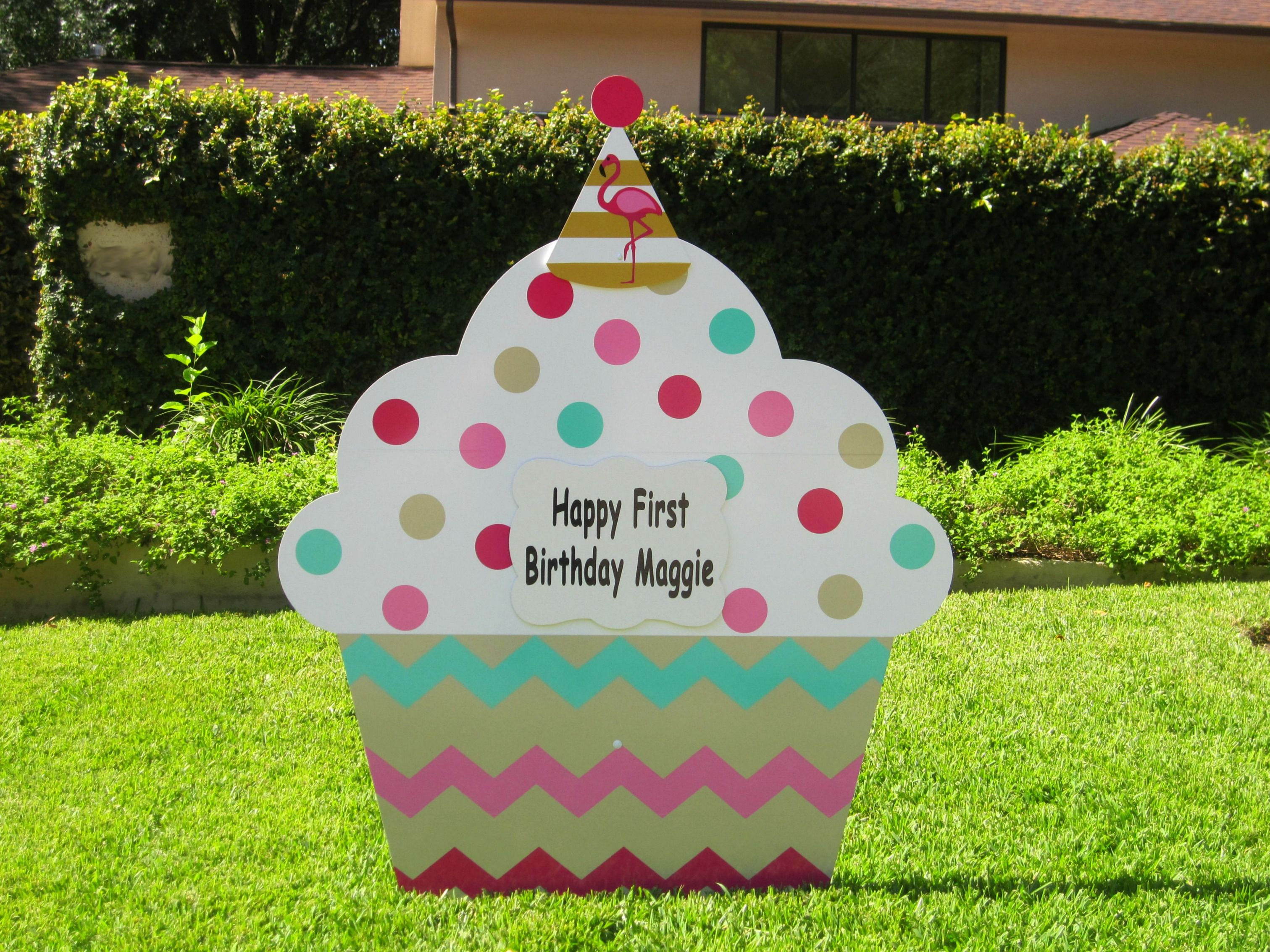 Birthday lawn sign rentals business opportunity lawn