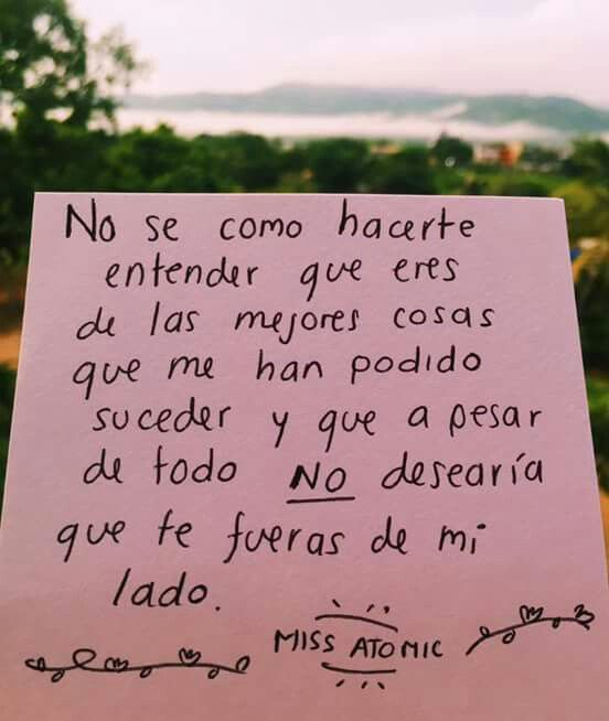 Fuiste Tú Texto Em Espanhol Palabras De Amor