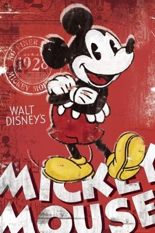 Vintage Disney Iphone Wallpaper Mickey Mouse Et Ses Amis Dessin Mickey Affiches Disney