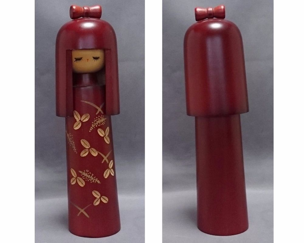 "There are two main types of Kokeshi dolls; Traditional Kokeshi and Creative Kokeshi. They differ from traditional Kokeshi, and are ""Kokeshi doll"" that are neither the region nor the restriction, and produced in. 
