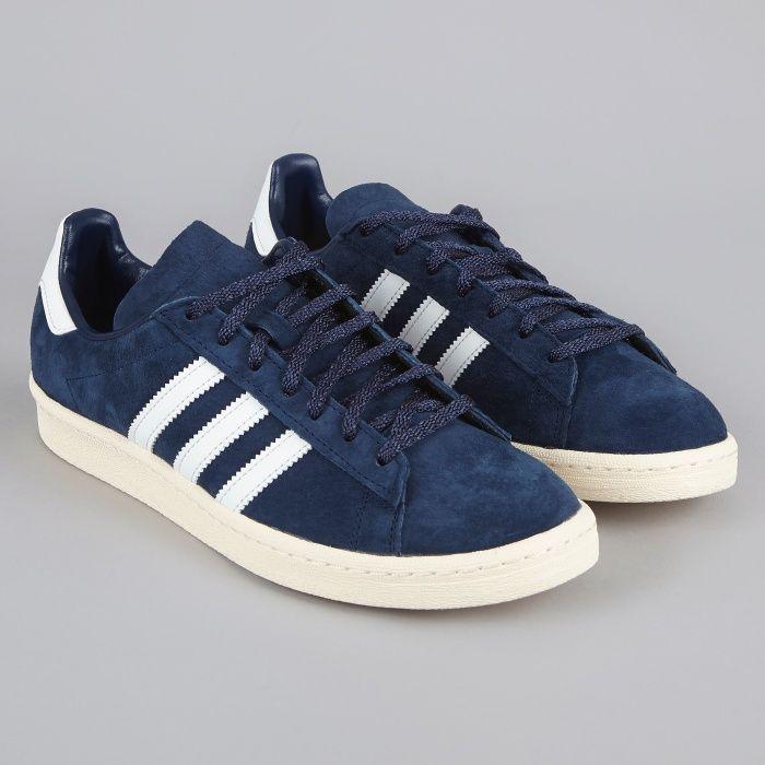 buy popular 8c26f d3d5f Adidas Campus 80s Japan Pack VNTG - Dark BlueWhite
