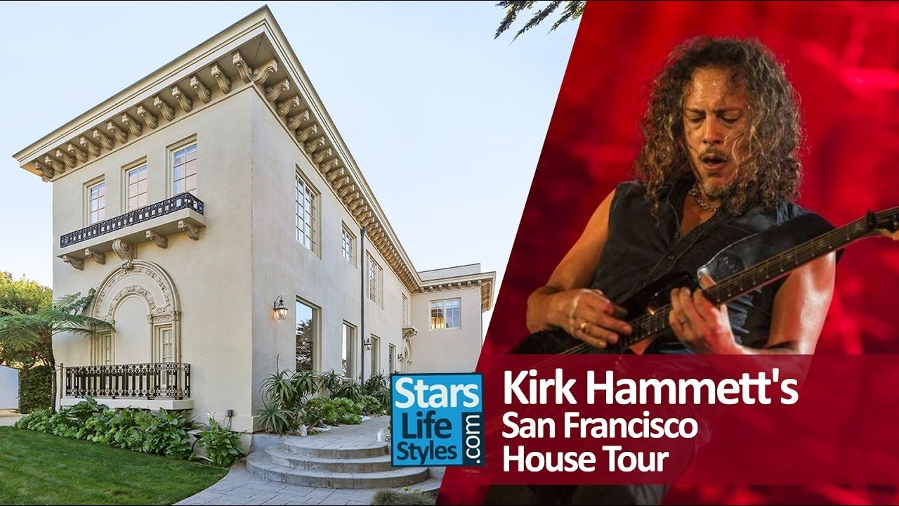 Kirk Hammett Metallica S Guitarist San Francisco House Tour Califor