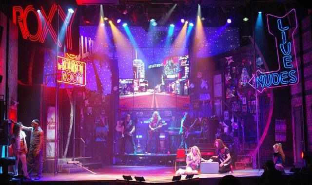 Rock Of Ages Beowulf Boritt Design Rock Of Ages Rock Of Ages Musical Rock Room