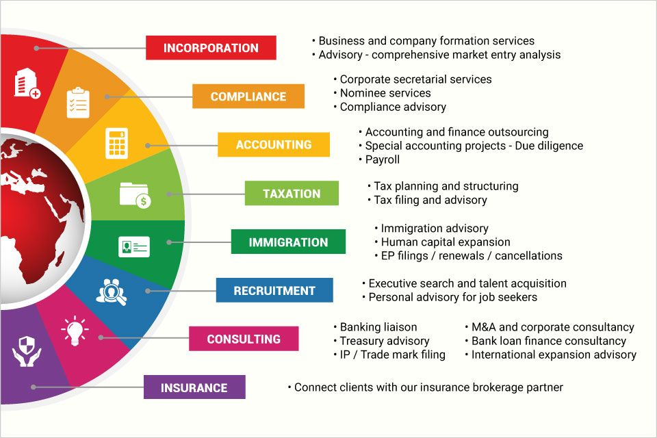 In Corp Offers The Full Range Of Professional Services For