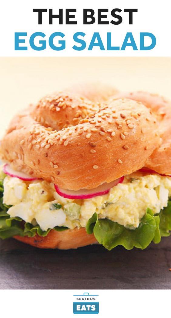 Egg Salad Recipe Serious Eats