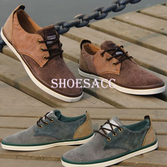 2013 Fashion Men Canvas Shoes Casual Mens Shoes Classic Lace up Flat Shoes  Free shipping S13033-in Sneakers from Shoes on Aliexpress.com 8c441bb90