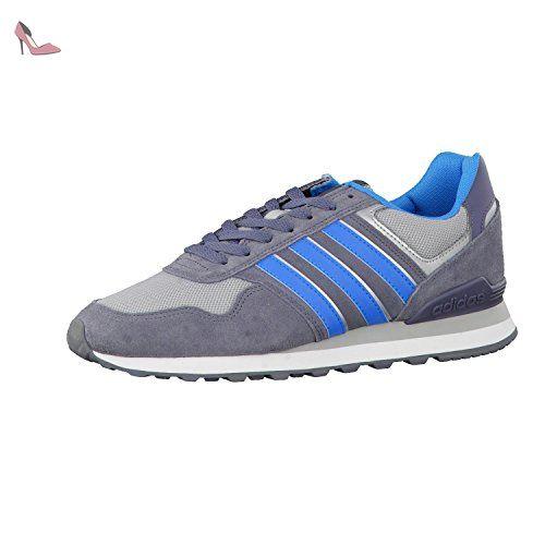 adidas NEO , Baskets pour homme - gris - Onix/Solar Blue2/Clear Onix