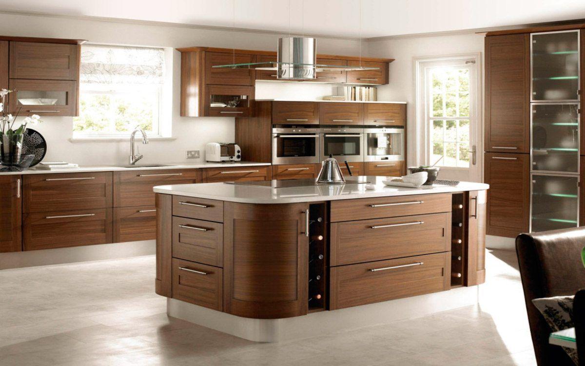 Resultado De Imagen De Cocinas Moderna De Madera Cocina  ~ Muebles De Cocina De Madera Modernos