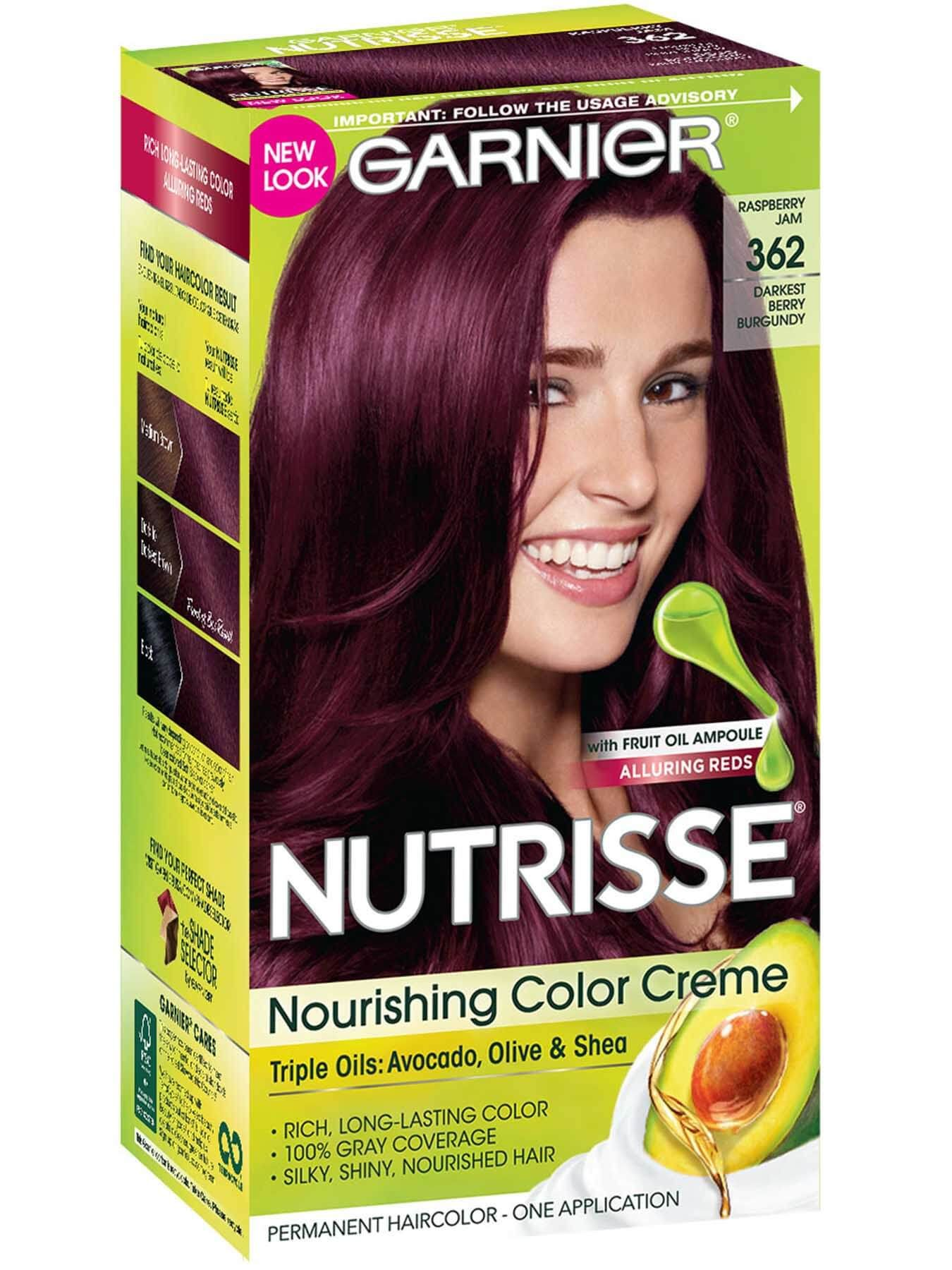 362 Darkest Berry Burgundy Hair Color Hair Color Burgundy