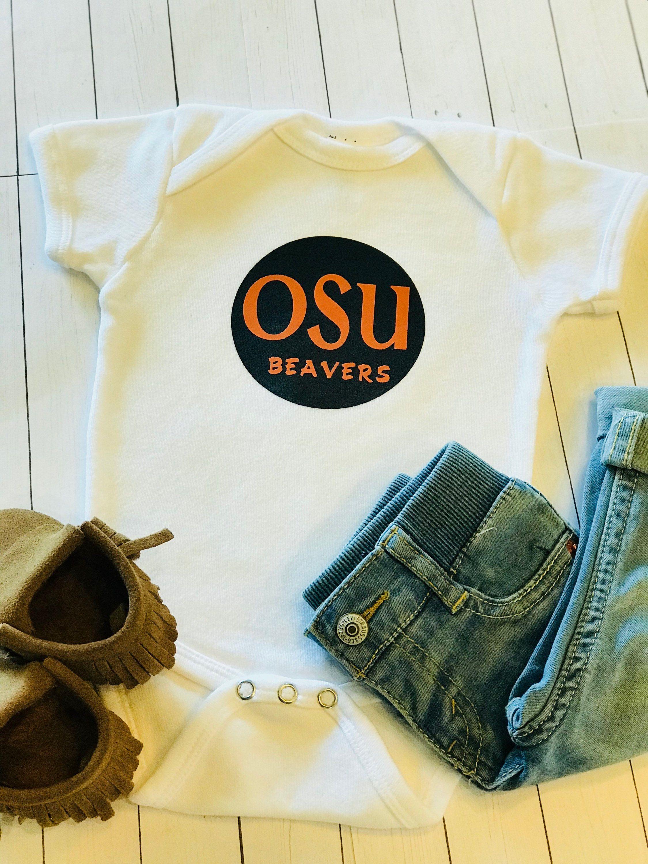 e2daf4053b17 Oregon State University Beavers Baby Bodysuit